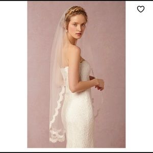 Scalloped Veil by BHLDN